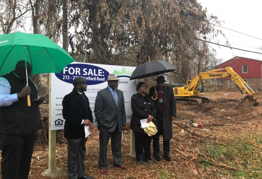 Groundbreaking for Affordable Housing on Stratford Street